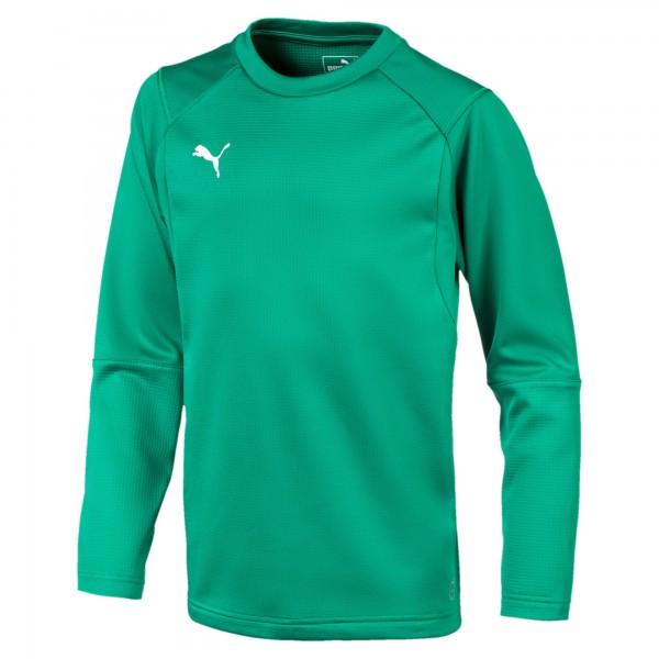 Puma LIGA Training Sweat Jr Kinder Shirt 655670 (Grün 05)