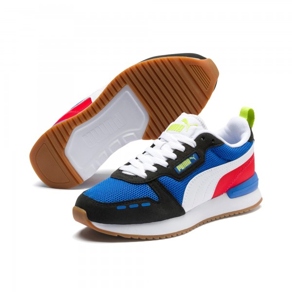 Puma R78 Jr Kinder Sneaker 373616 (Blau 03)