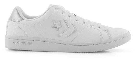 Converse Chucks Taylor All-Court OX 563517C (White/Silver)