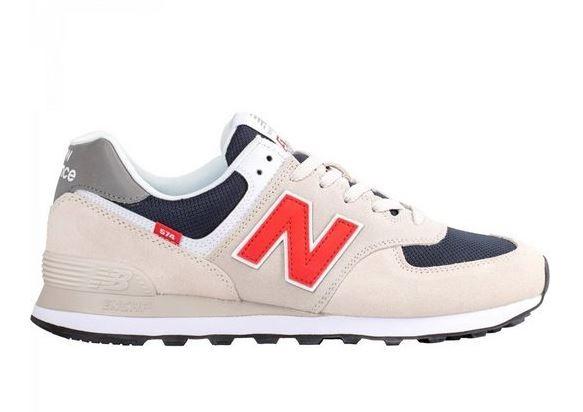 New Balance Herren Sneaker ML574SJ2 (Grau)