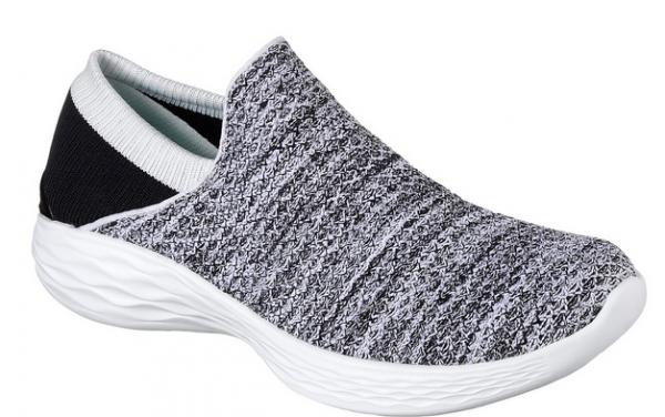 Skechers YOU Damen Sneaker 14951(Weiß/Schwarz - WBK)