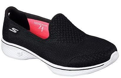 Skechers Gowalk4 - Propel Damen Sneaker 14170 (Schwarz-BKW)