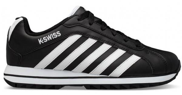 K-Swiss Verstad 2000 S Herren Sneaker 06608 (Schwarz/Weiß 002)