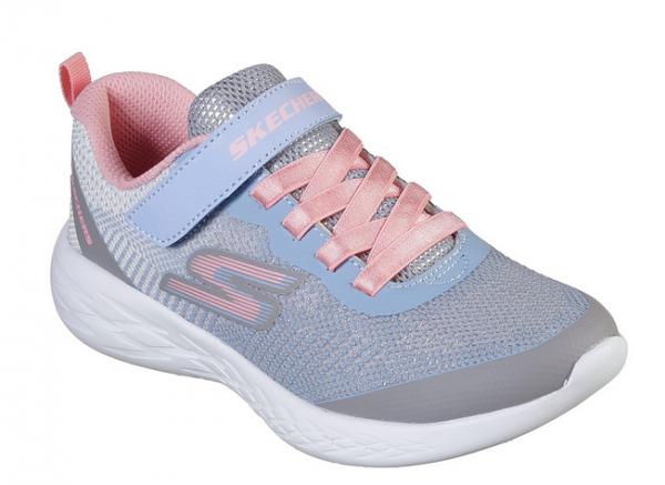 Skechers GoRun 600 - Dazzle Strides Kinder Sneaker 82050L (Grau-GYMT)