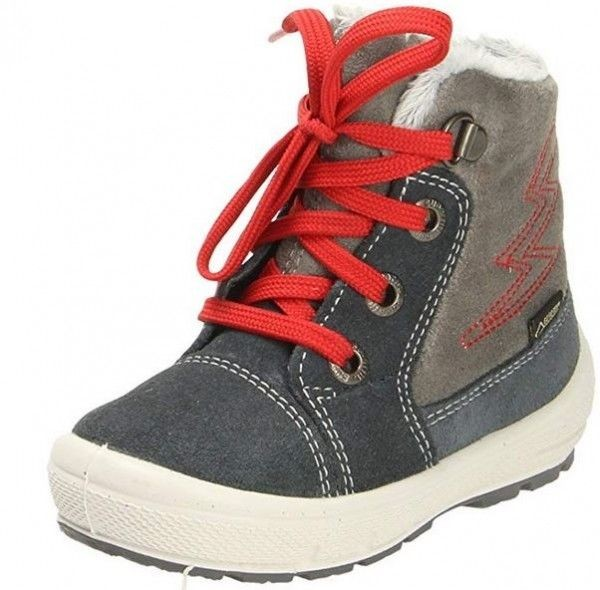 info for 6eb1a c1439 Superfit Groovy Kinder Winterstiefel 3-09306-20 (Grau/Rot)
