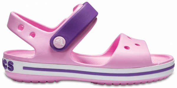 Crocs Crocband Sandal Kinder Sandale (Carnation/Amethyst)