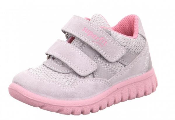 Superfit Sport7 Mini Kinder Sneaker 6-09191 (Grau 26)