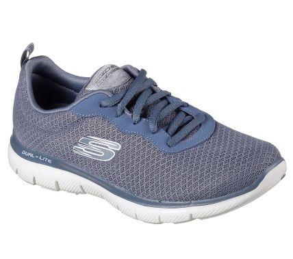 Skechers Flex Appeal 2.0 - Newsmaker Damen Sneaker 12775 (Blau-SLT)