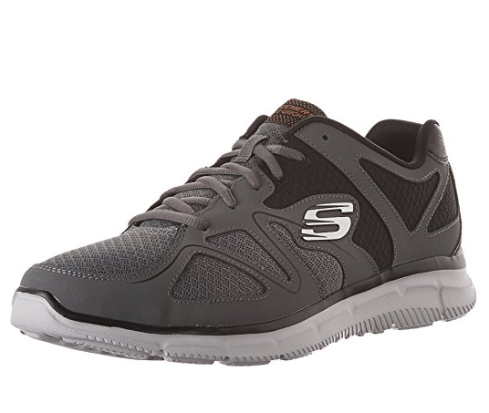 Skechers Satisfaction - Flash Point Herren Sneaker 58350 (Grau-CCOR)