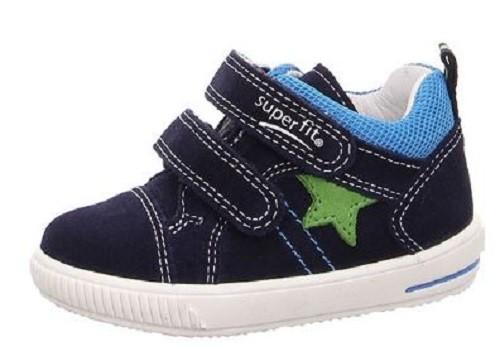 Superfit Moppy Kinder Sneaker (Blau 80)