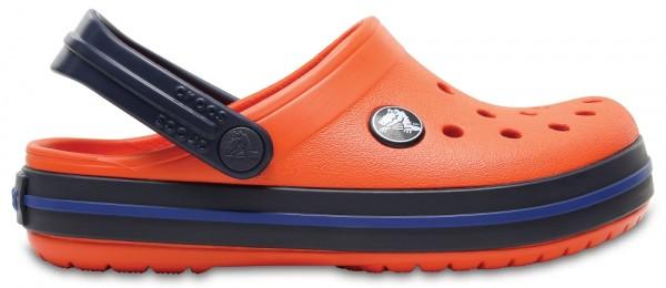Crocs Crocband Kinder (Tangerine/Navy)