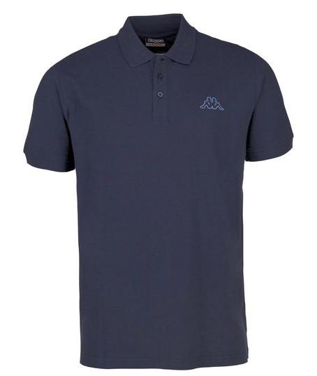Kappa Peleot Herren Poloshirt 303173 (Blau 821)