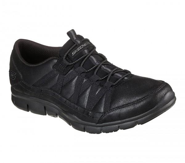 Skechers Gratis - Fine Taste Damen Sneaker 23356 (Schwarz-BBK)