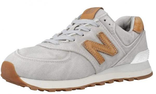 New Balance Damen Sneaker WL574WTE (Grau)