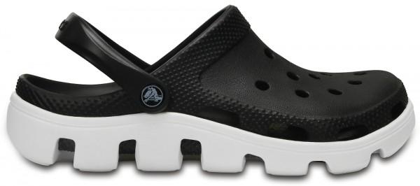 Crocs Duet Sport Clog (Black/White)