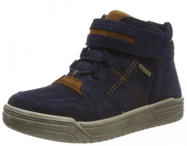 Superfit Earth Kinder Sneaker (Blau/Braun 80)
