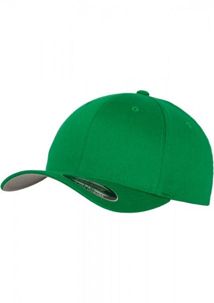 Flexfit Wooly Combed Baseball Cap (Pepper green 00601)