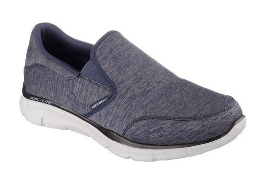 Skechers Equalizer - Forward Thinking Herren Sneaker 51504 (Blau-NVGY)
