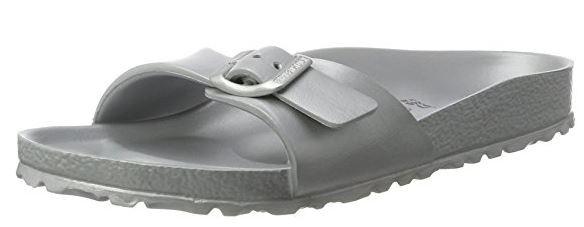 Birkenstock Madrid EVA schmal Pantolette 1003493(Silber)