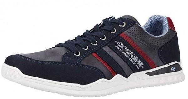 Dockers Herren Sneaker 44MM002-600 (Blau 660)