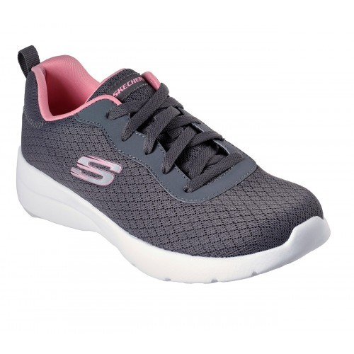 Skechers Dynamight 2.0 - Eye to Eye Damen Sneaker 12964 (Grau-CCCL)