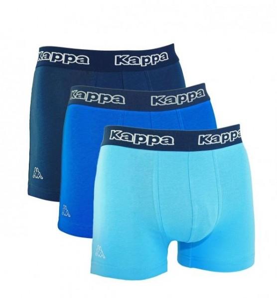 Kappa Tsuna Herren Boxershorts 6er Pack (Blau)