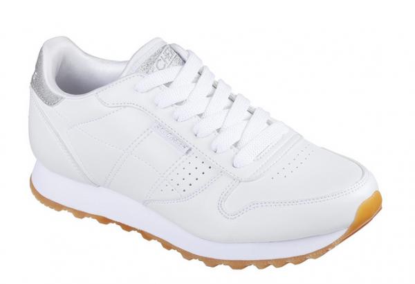 Skechers OG 85 - Old School Cool Damen Sneaker (Weiß-WHT)