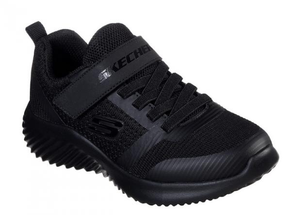 Skechers Bounder - Zallow Kinder Sneaker 98302L (Schwarz-BBK)