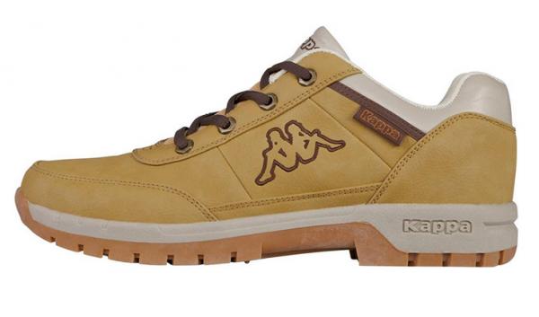 Kappa Bright Low Light Herren Sneaker 242226 (Braun 4141)