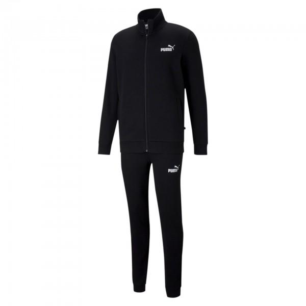 Puma Clean Sweat Suit FL Herren Trainingsanzug 585841 (Schwarz 01)