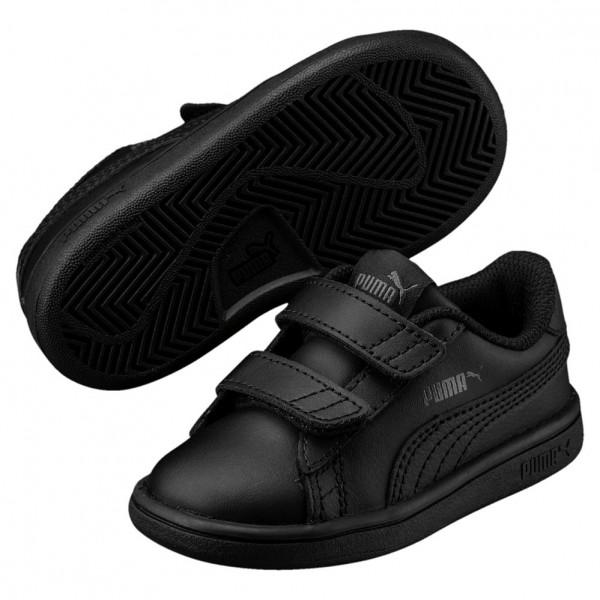 Puma Smash V2 L Kids Sneaker 365173 (black-black 01)