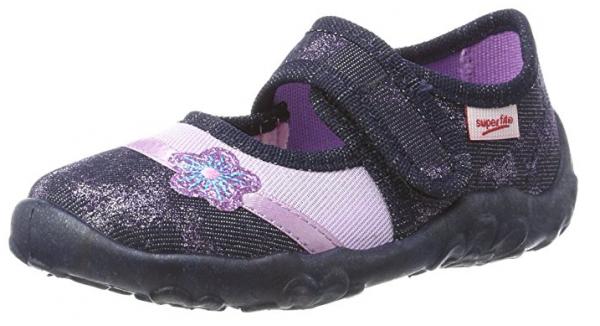 Superfit Bonny 8-00284 Kinder Schuhe Hausschuhe (Lila 81)