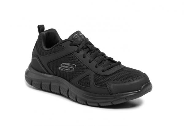 Skechers Track Herren Sneaker 52631 (Schwarz-BBK)