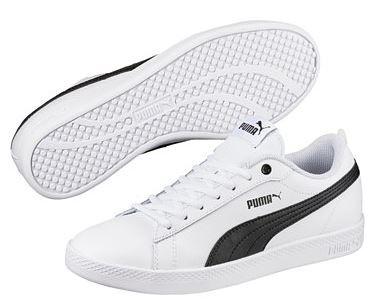 Puma Smash Wns V2 L Damen Sneaker 365208 (White 01)