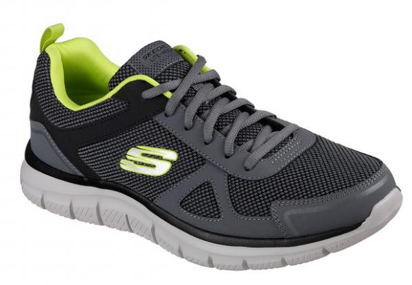 Skechers Track - Bucolo Herren Sneaker 52630 (Grau-CCLM)