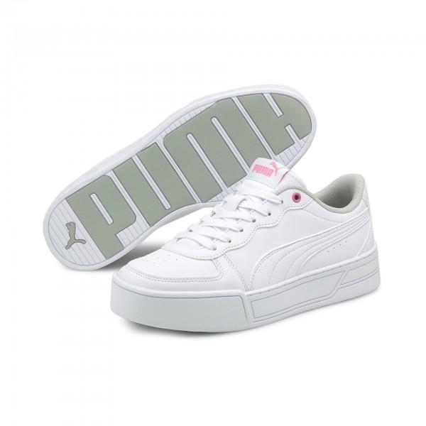 Puma Skye Jr Kinder Sneaker 375766 (Weiß 01)