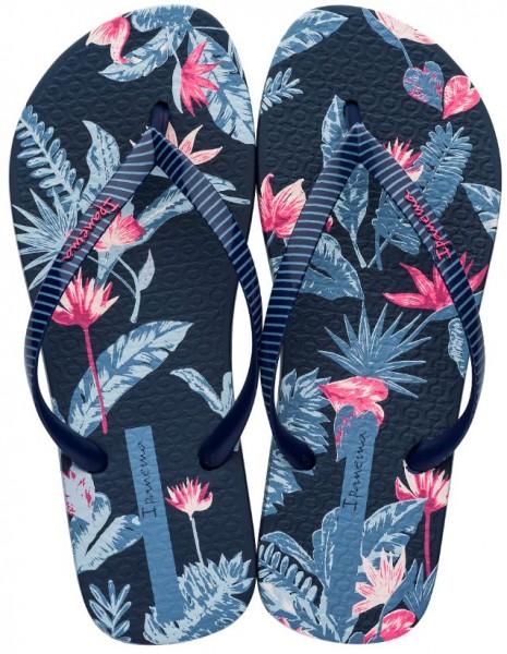 Ipanema I Love Tropical Damen Zehentrenner (Blau-20729)