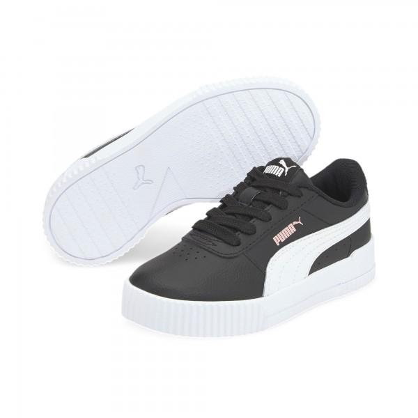Puma Carina L PS Kinder Sneaker 370678 (Schwarz 14)