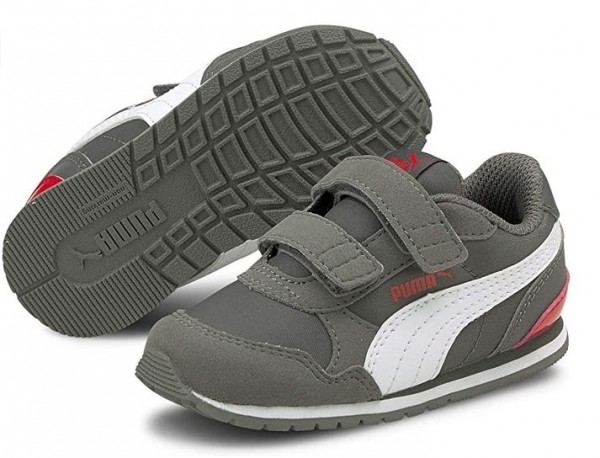 Puma ST Runner v2 NL V PS Kinder Sneaker 365294 (Grau 31)