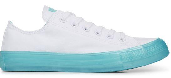 Converse Chucks Taylor All Star Candy Coated Low Damen Sneaker 560646C (White Bleached Aqua)