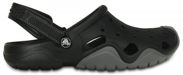 Crocs Swiftwater Clog (black-charcoal)