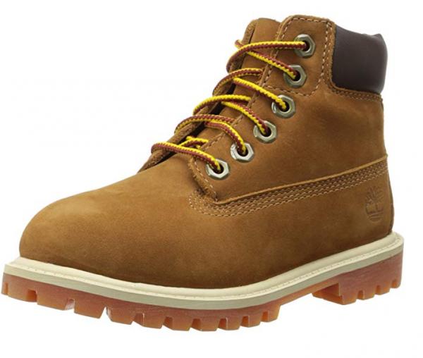Timberland 6 Inch Premium Kinder Stiefel (Braun)