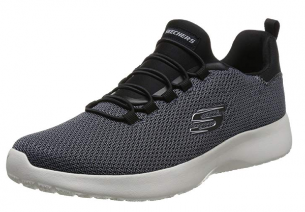 Skechers Dynamight Herren Sneaker 58360 (Schwarz-BLK)