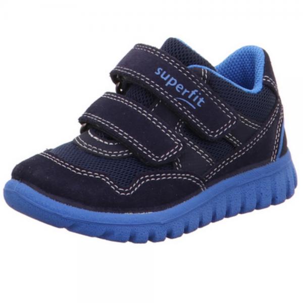Superfit Sport7 Mini Kinder Sneaker 6-09191 (Blau 80)