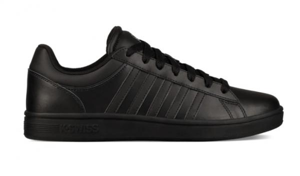 K-Swiss Court Winston Herren Sneaker 06154 (Schwarz 010)