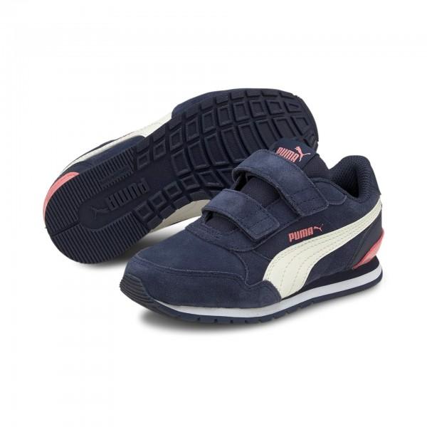 Puma ST Runner v2 SD V PS Kinder Sneaker 366001 (Blau 12)