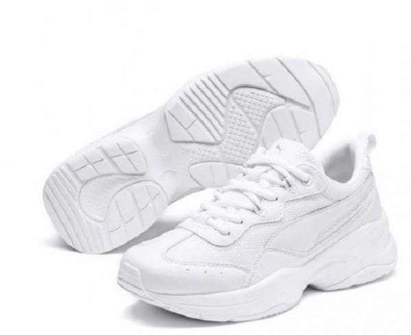 Puma Cilia Damen Sneaker 369778 (Weiß -02)