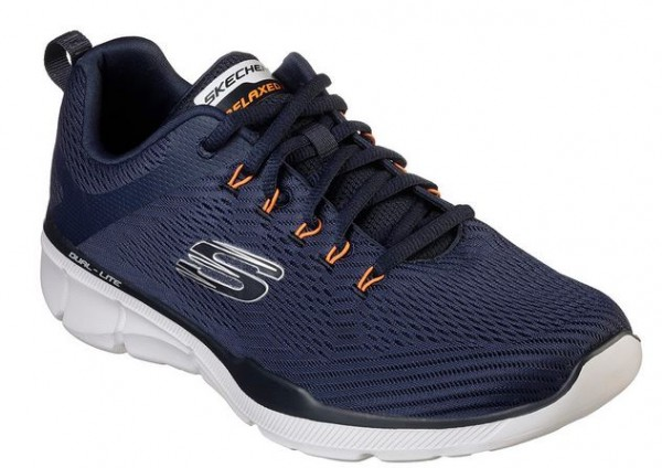 Skechers Relaxed Fit: Equalizer 3.0 Sneaker (Blau-NVOR)