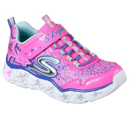 Skechers S Lights: Galaxy Lights Kinder Sneaker 10920L (Pink - NPMT)