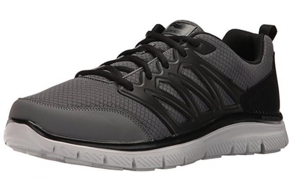 Skechers Flex Advantage - Sheaks Herren Sneaker 58353 (Grau-GYBK)